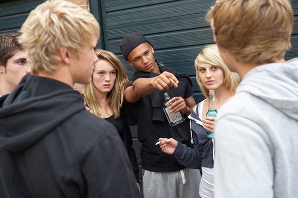 teen drugs and alcohol use